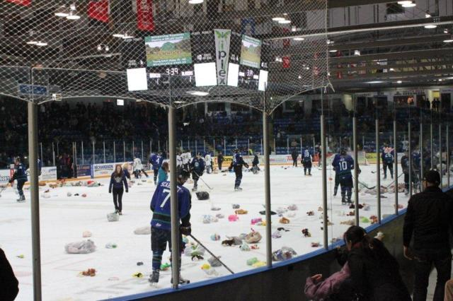 Teddy Bear Toss 2011