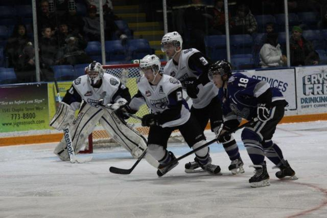 The Broncos against the Royals last season (Photo by Darwin Knelsen)