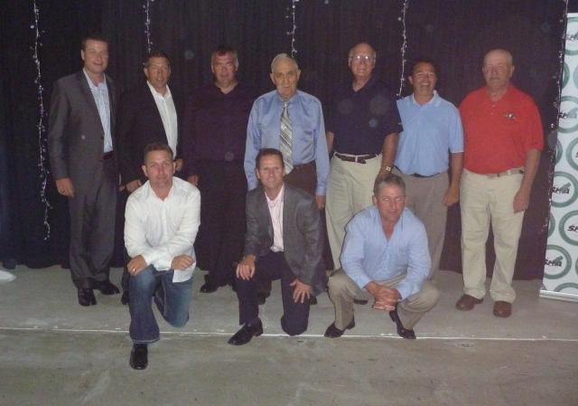 Members of the 1989 Swift Current Broncos