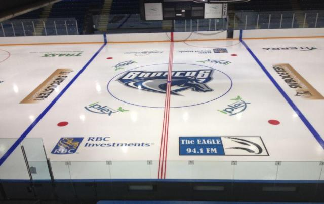 Fresh ice at the Credit Union iPlex https://twitter.com/SCBroncos/