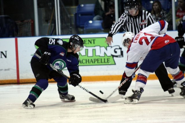Zac Mackay against the Oil Kings (Photo by Darwin Knelsen)