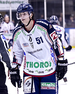 Zack Smith while playing in Denmark