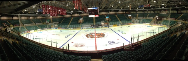 The Arena in Medicine Hat