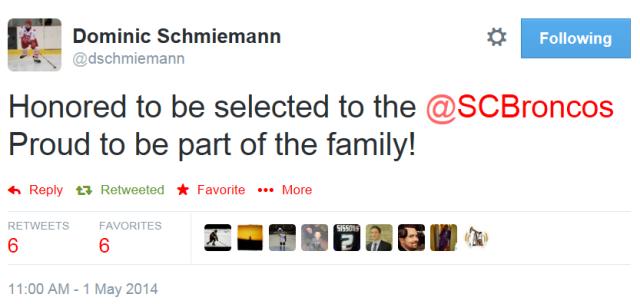 schmiemann tweet