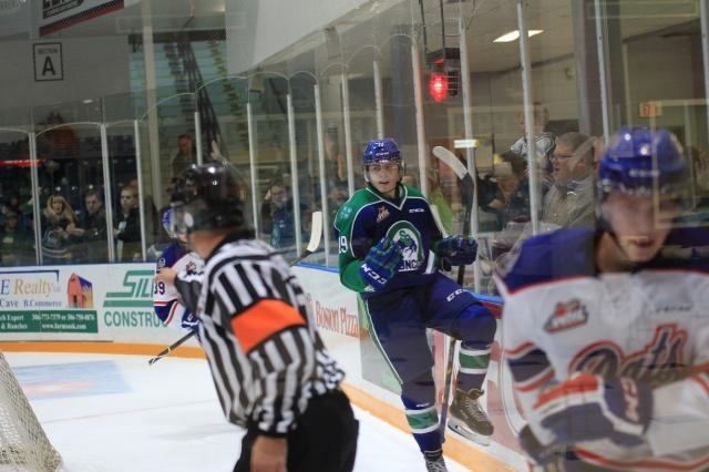 Jake DeBrusk (Photo by Darwin Knelsen for scbroncos.com)