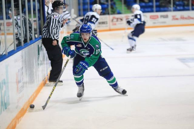 Tyler Steenbergen (photo by Darwin Knelsen for scbroncos.com)