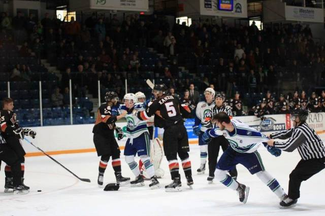 Broncos Hitmen fight Martin
