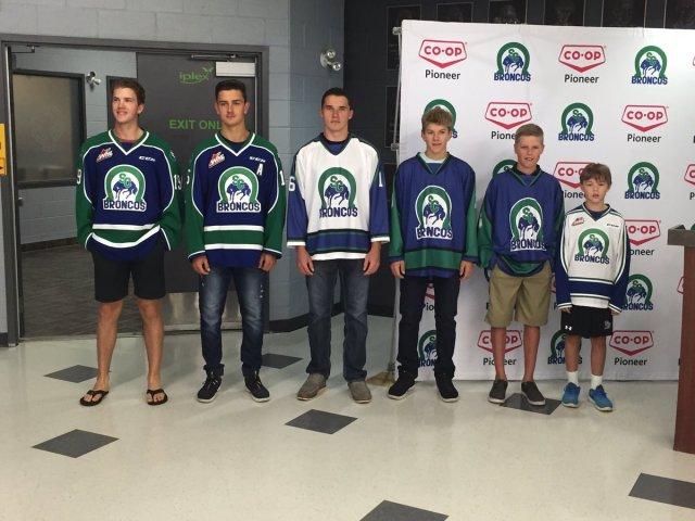 Gawdin Pederson minor hockey